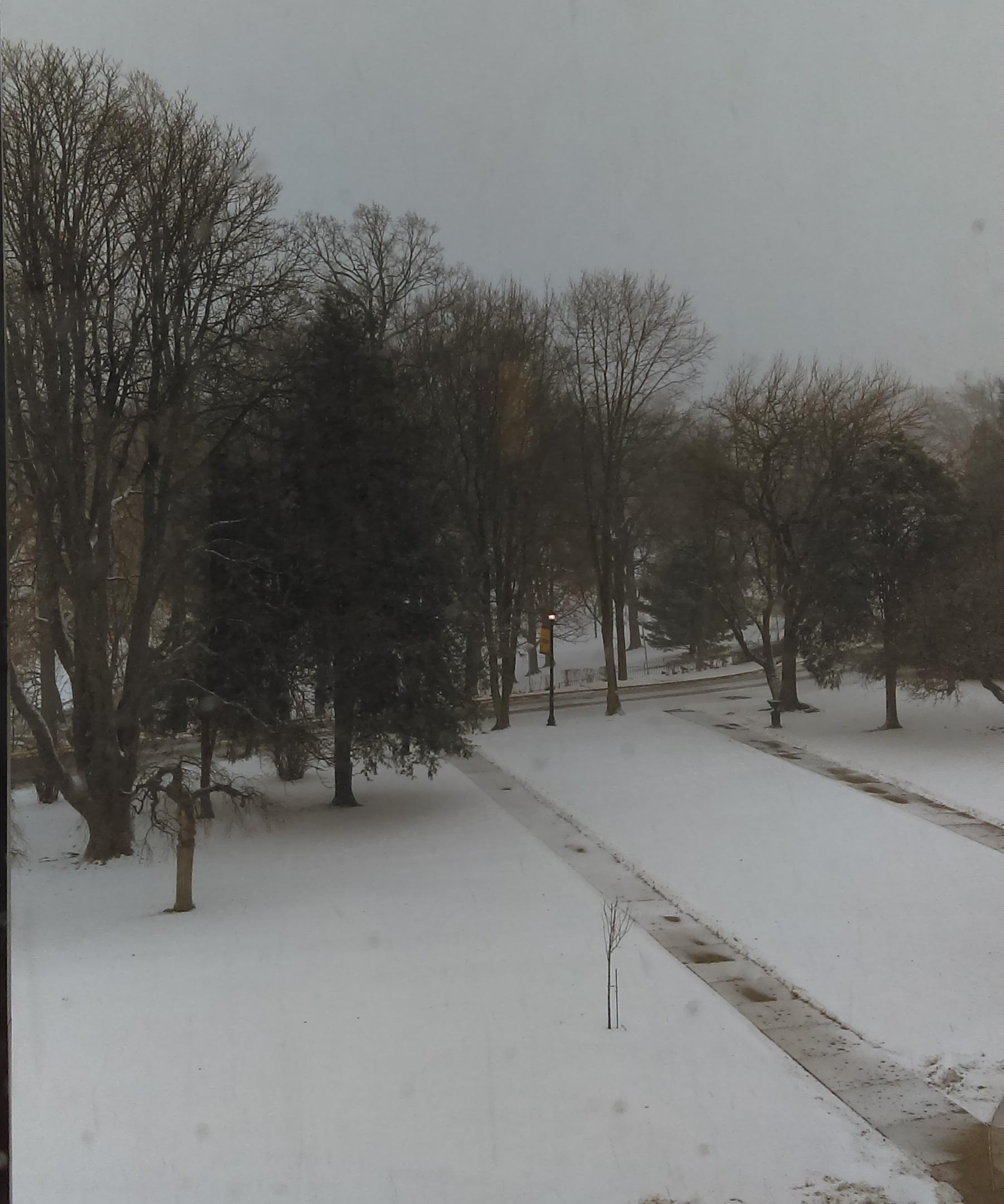 Snowy Greensburg J.D. Cook
